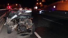 Gümüşhane'de trafik kazası: 1 yaralı