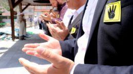 Gümüşhane'de Mursi için gıyabi cenaze namazı kılındı