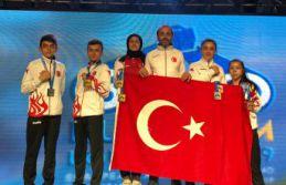 Gümüşhaneli sporcular Yunanistan'da Avrupa'nın...