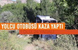 Gümüşhane'de yolcu otobüsü kaza yaptı: 1 ölü,...