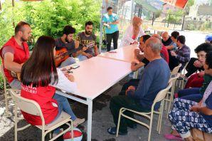 Gençlik Merkezinden 'Gülen Yüzler'e ziyaret