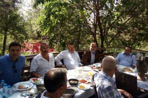 GİAD, Kemalettin Aydın ve Mahmut Sami Mallı'yı ağırladı