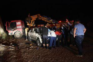 Gümüşhane'de otomobil duvardan düştü: 1 ölü