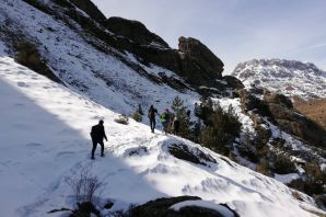 Gümüşhaneli dağcılardan Kadınlar Günü yürüyüşü