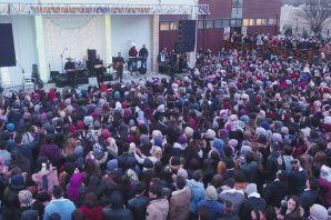 Dünya kadınlar gününe coşkulu konser
