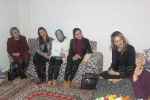 Şengül Yavuz Kürtün'ü Ziyaret Etti
