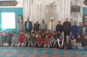 Şiran'da cami-çocuk buluşması etkinliği düzenlendi