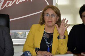CHP Kadın Kolları Genel Başkanı Fatma Köse Gümüşhane'de