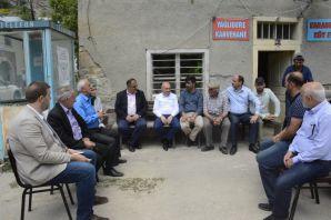 Akgül köy ziyaretlerine devam ediyor