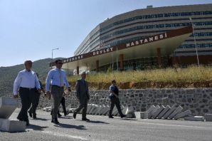 Vali Memiş'ten hastane yolu müjdesi