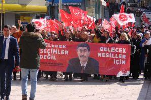 MHP Torul'da aday tanıtım toplantısı düzenledi