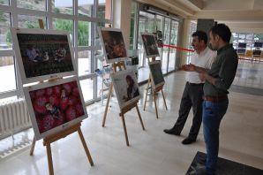 Gümüşhane'de Tarım ve İnsan Konulu Fotoğraf Sergisi Açıldı