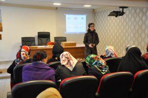 'Tarımda Kadın Girişimciliğinin Güçlendirilmesi' projesi eğitimi başladı,