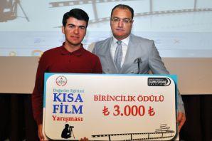 Gümüşhane'de ilk kez lise öğrencileri arasında kısa film yarışması düzenlendi