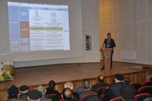 Kelkit ve Şiran'da Tarsim Bilgilendirme toplantısı yapıldı