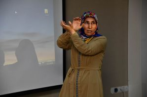 Vali Taşbilek İşaret Dili Kursunun ilk dersine katıldı