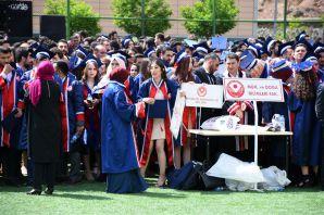 Gümüşhane Üniversitesinde 10.mezuniyet töreni