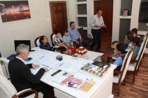 Çocuklardan İl Genel Meclisine ziyaret