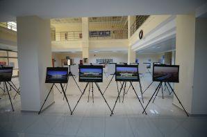 GÜ'de 'Edirne'den Viyana'ya Tarih'in İzleri' sergisi açıldı