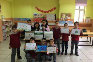 Fevzipaşa İlkokulu öğrencilerinden kitap kardeşliği projesi