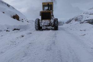 Gümüşhane'de kapanan köy yollarının yüzde 73'ü 12 saatte açıldı
