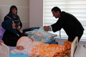 Şiran'da ilk sezeryanla doğum gerçekleşti
