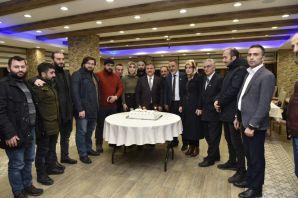 Başkan Çimen, gazetecilerle özel günlerinde buluştu