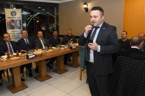 Türk Büro-Sen üyeleri yemekte buluştu