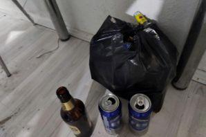 Kısıtlama gününde alkollü eğence yapan şahıslara 20 bin lira ceza