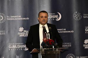 Sanayi ve Teknoloji Bakanı Varank Gümüşhane'de sektör temsilcileriyle buluştu