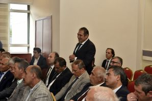 Gümüşhane'de yılın son İl Koordinasyon Kurulu Toplantısı yapıldı