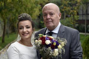 İtalyan ve Bulgar çift 15 yıl önce tanıştıkları Gümüşhane'de 29 Ekim'de nikah kıydı
