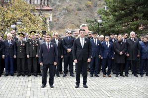 Ulu Önder vefatının 79.yıldömünde Gümüşhane'de anıldı