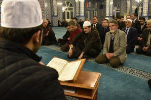 Gümüşhane'de Afrin şehitleri için mevlid programı