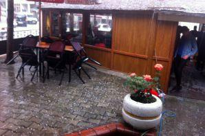 Torul'da dolu yağışı etkili oldu
