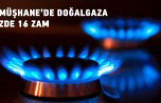 Gümüşhane'de doğalgaza rekor zam
