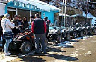 Zigana'da ATV turları başladı
