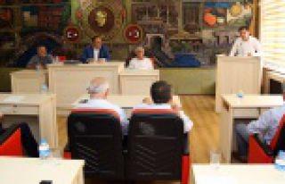 İl Genel Meclisi'nin Ağustos ayı toplantıları...