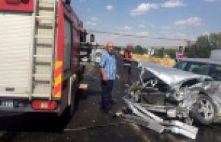 Kelkit'te trafik kazası: 6 yaralı