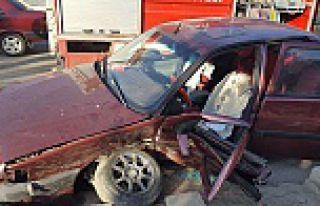 Kelkit'te trafik kazası: 3 yaralı