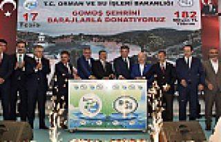 Bakan Eroğlu Gümüşhane'de 182 milyon TL'lik...