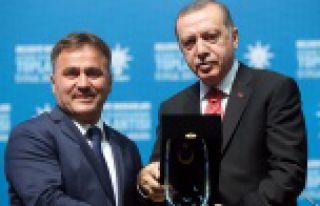 Gümüşhane Belediyesi Türkiye üçüncüsü oldu