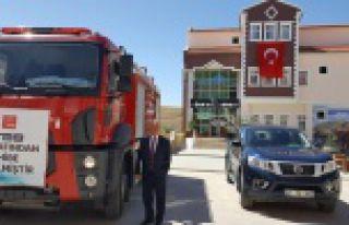 Köse Belediyesinin araç parkı güçleniyor