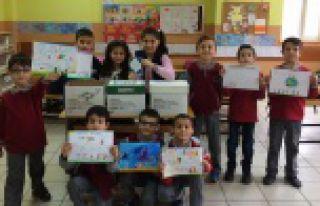 Fevzipaşa İlkokulu öğrencilerinden kitap kardeşliği...