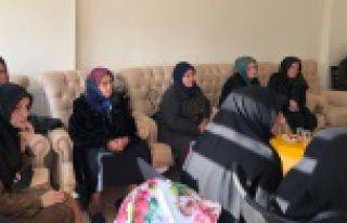 Aile Yaşam Merkezi Afrin şehitleri için mevlit...
