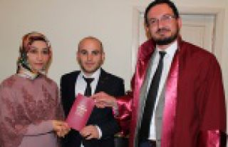 Gümüşhane'de müftüler ilk resmi nikahı Köse'de...