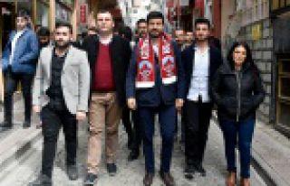CHP Gençlik Kolları Genel Başkanı Emre Yılmaz...