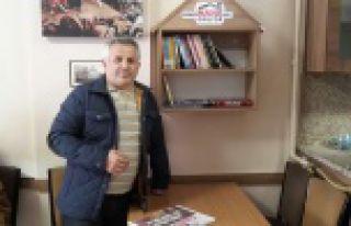 Eğitimci-Yazar İsmail Hayal'den kitap okuma projesine...