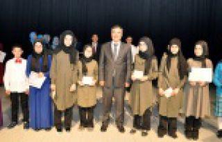 İmam Hatip öğrencileri Arapça hünerlerini gösterdiler