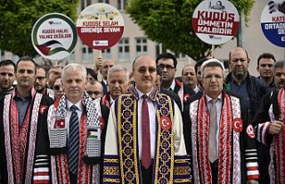 Gümüşhane Üniversitesi senatosu Filistin'de...